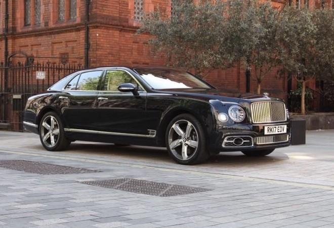 Bentley Mulsanne Van Marle