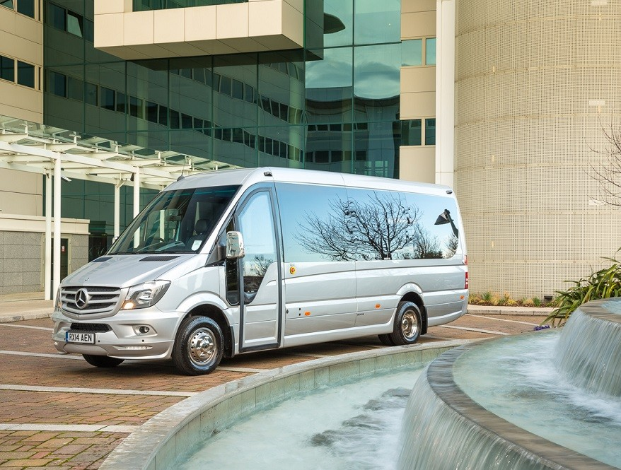 Luxury Minibus Hire Cambridge Van Marle