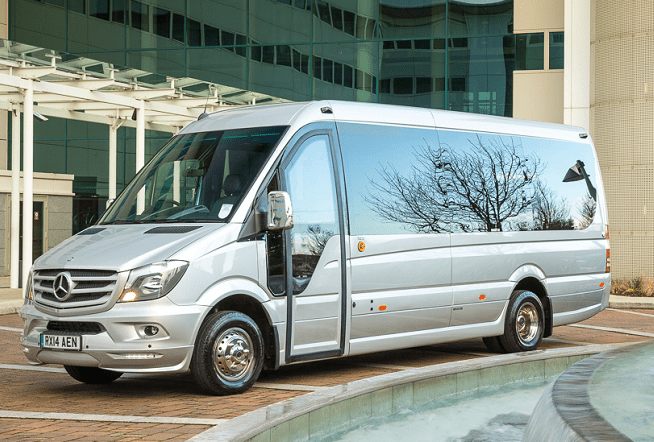 luxury executive minibus